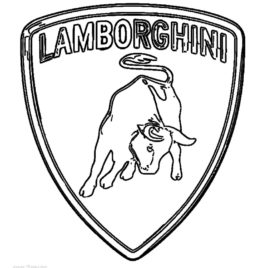 268x268 Printable Lamborghini Coloring Pages For Kids Cool2bkids Coloring
