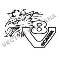 200x200 Scania Car Logo Vector Png Download