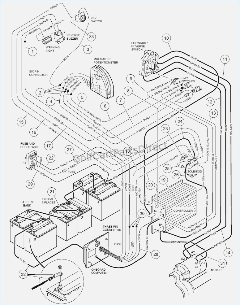 car parts drawing at getdrawings com free for personal use car club cart battery wiring diagram 776x985 2001 club car wiring diagram wheretobe co