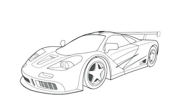 700x433 Race Car Colouring Pages Printable Drawn Coloring Page Pencil