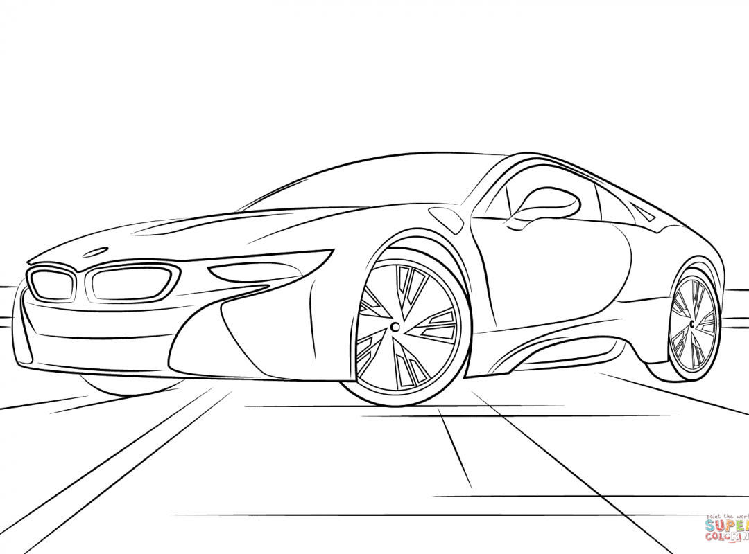 1080x800 Bmw Car Coloring Pages For Adult X6 Page And Other Series