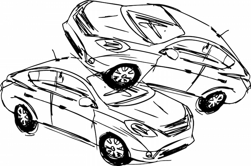 800x529 Car Accident Drawings