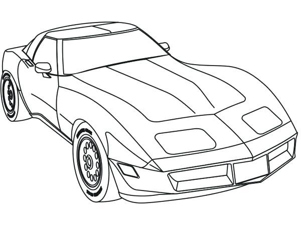 600x449 Perspective Pictures Of Race Cars To Color Sport Car Coloring Page