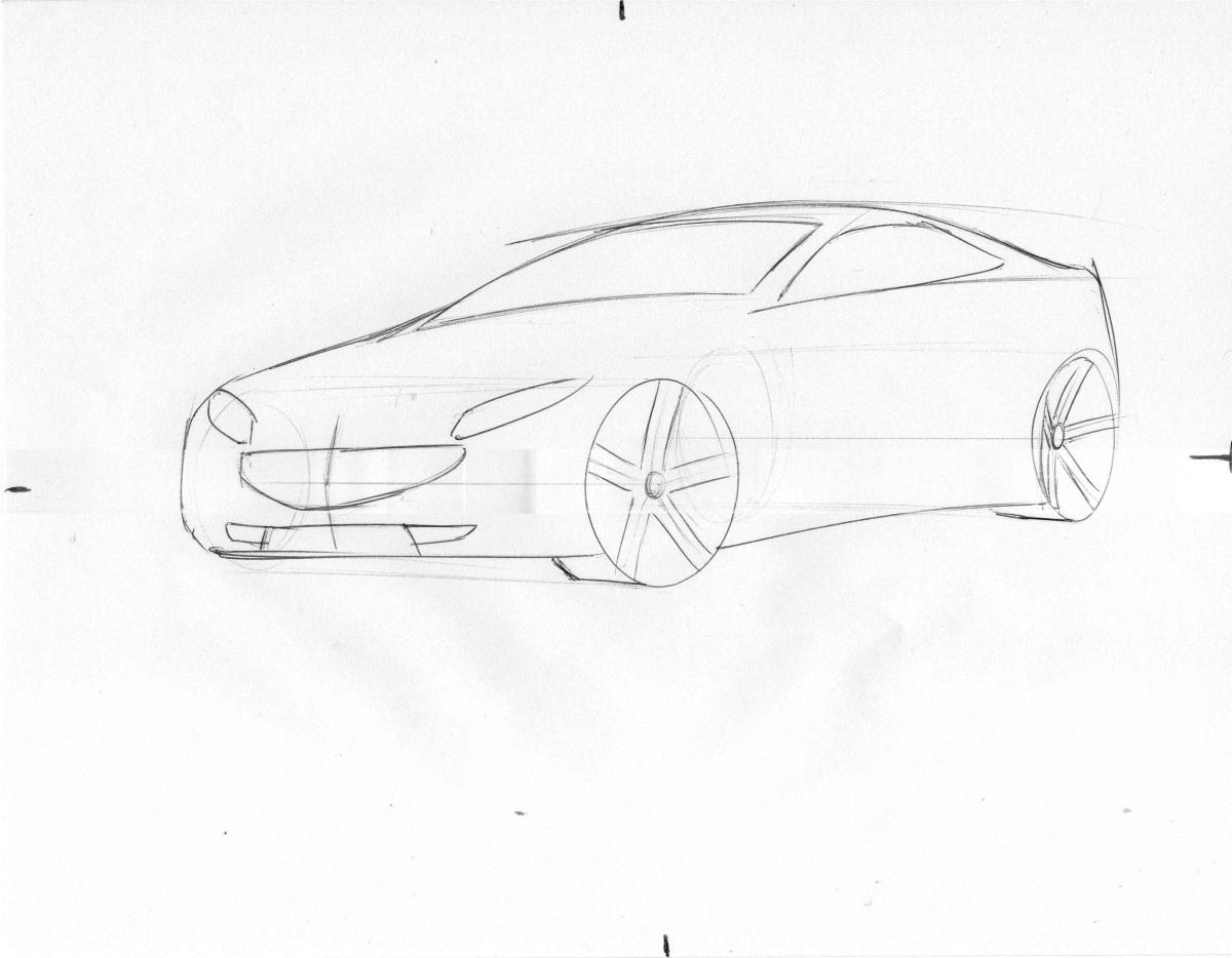 1200x934 Car Drawing Tutorial 27roman