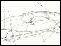 210x160 Concise Car Sketching Review
