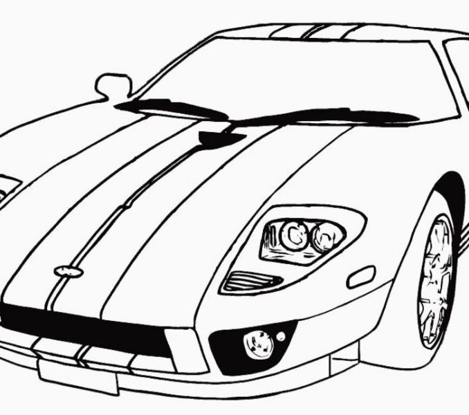 678x600 Print Cars Coloring Pages Coloring Pages