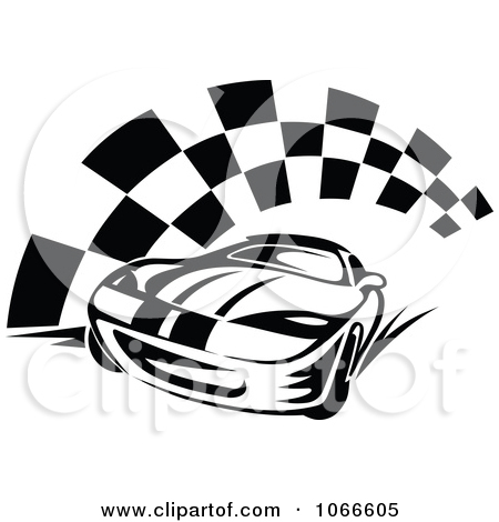 450x470 Race Car Black And White Clipart