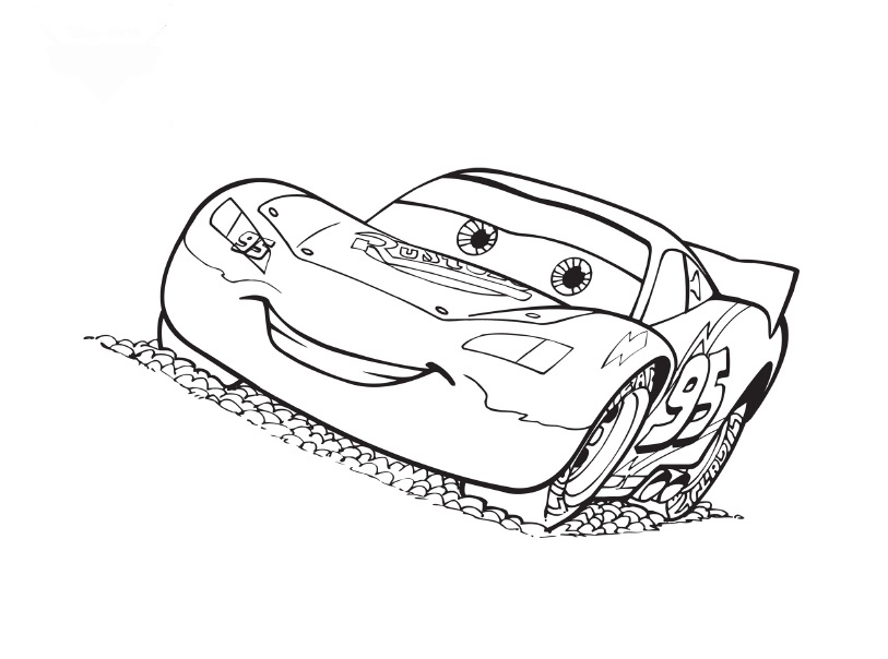 813x604 Beautiful Race Car Coloring Page 88 For Your Coloring Pages