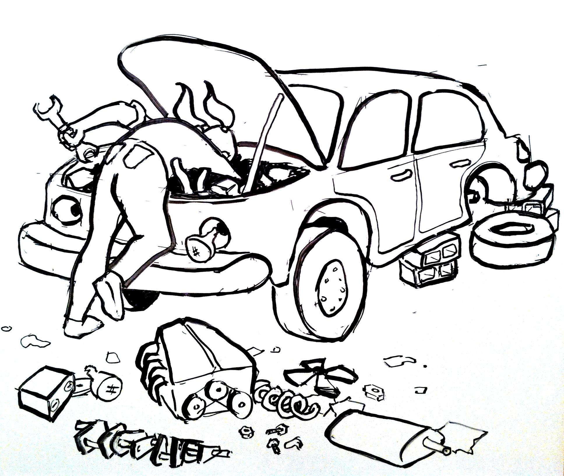 1936x1636 On Car Repair And Rewrites Writers' Rumpus