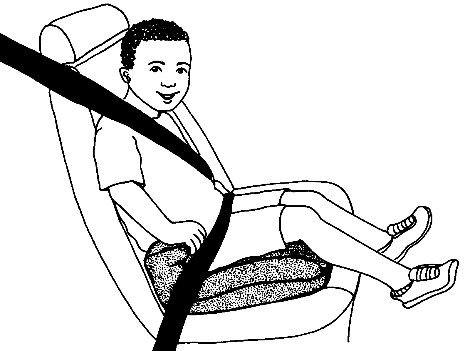 1583x1193 The Murky, Murky World Of Booster Seat Laws Huffpost