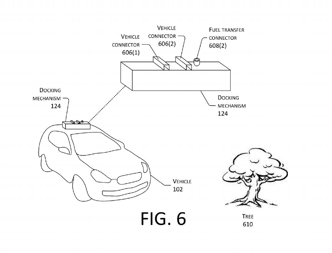1068x815 Amazon Patents Drone That Will Recharge Your Electric Car