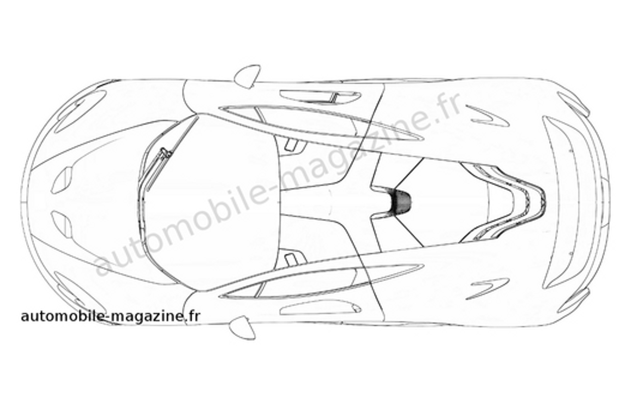 1280x805 Mclaren P1 Patent Sketches Photo Gallery