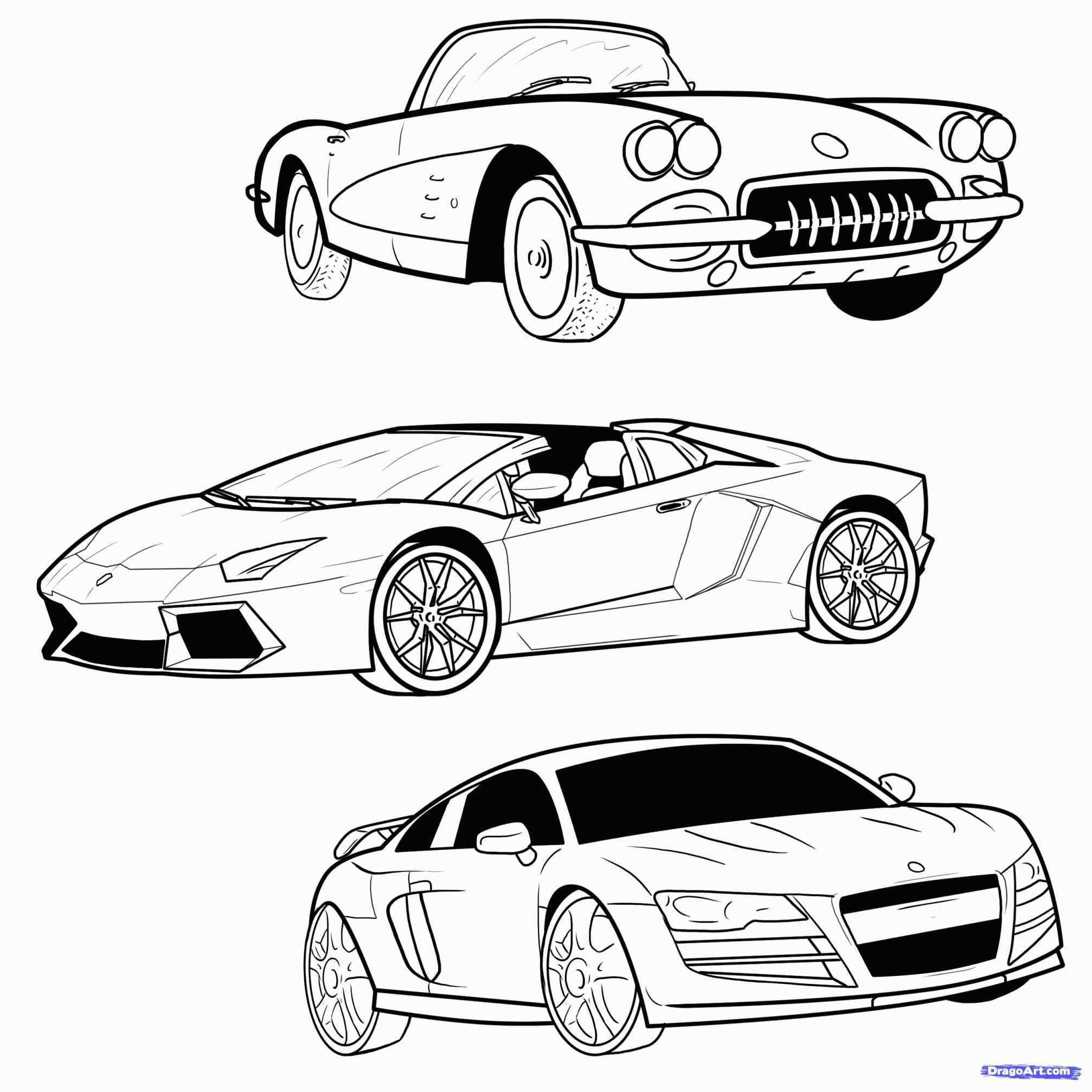 2014x2014 Muscle Car Drawings In Pencil Side View