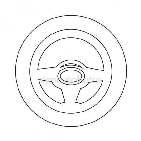 Car Steering Wheel Drawing At Getdrawings Com
