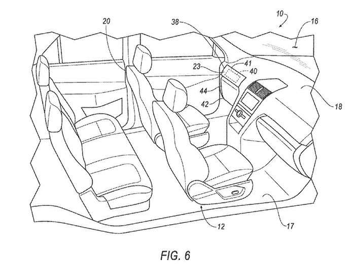 700x545 Ford Patent Shows Autonomous Car With Optional Steering Wheel