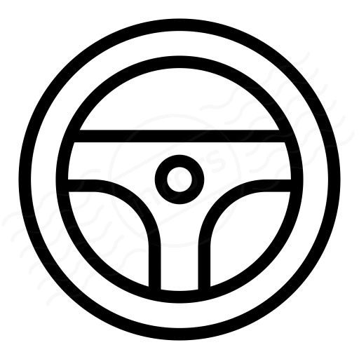 512x512 Iconexperience I Collection Steering Wheel Icon