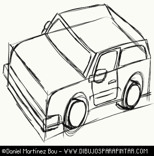 300x304 How To Draw A Car Step By Step