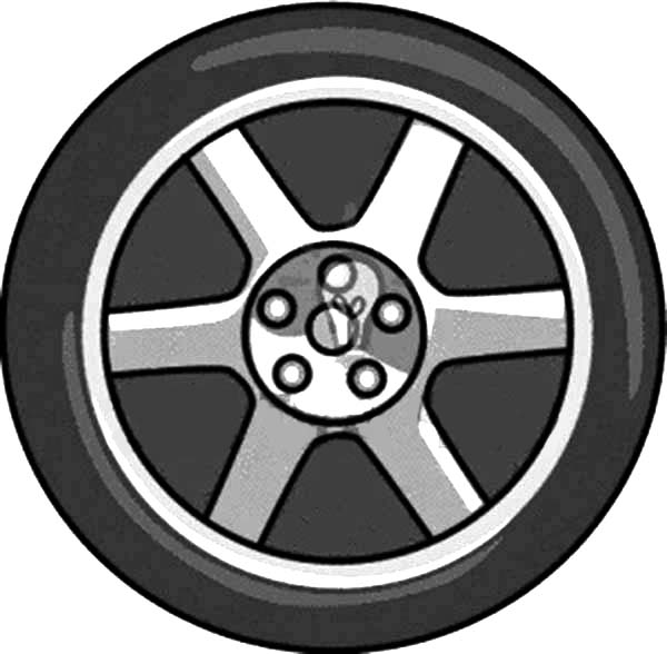 600x588 Drawing Car Tire Coloring Pages Best Place To Color