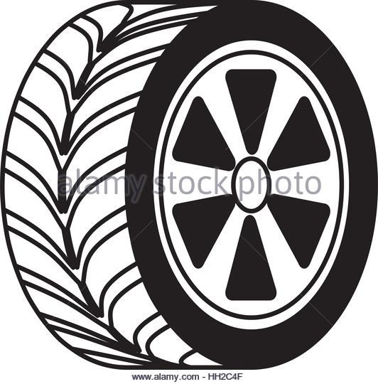 532x540 Tire Wheel Car Rim Vector Stock Photos Amp Tire Wheel Car Rim Vector