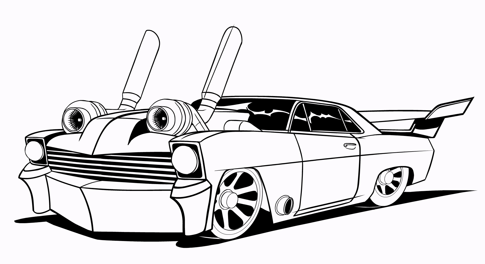 car turbo drawing at getdrawings com