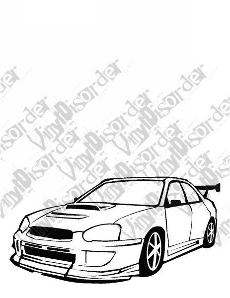 463x600 Suzuki Outlaw Tuner Rice Rocket Car Vinyl Decal Car Window