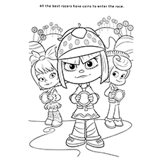 230x230 Top 10 Wreck It Ralph Coloring Pages For Your Little Ones