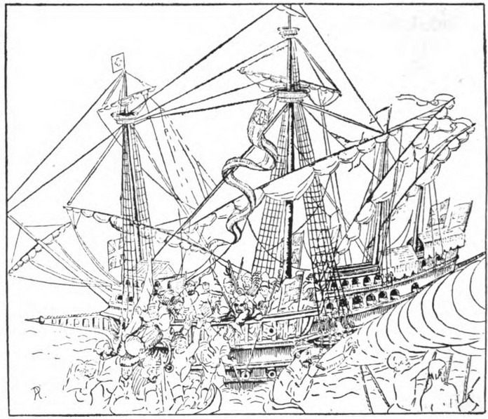 696x597 The Rise Of The Full Rigged Ships, A.d. 1400 1600