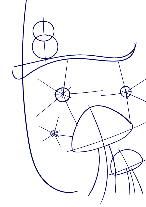 596x842 Learn How To Draw A Mushroom