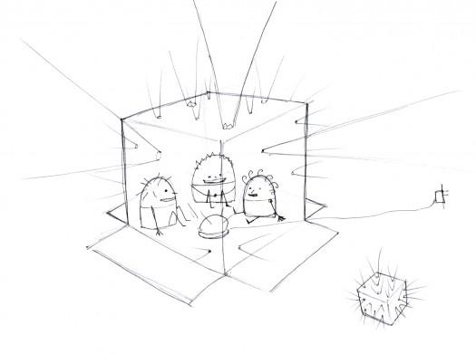 525x391 Playful Factory Cardboard Fort Design Concepts Playful Factory