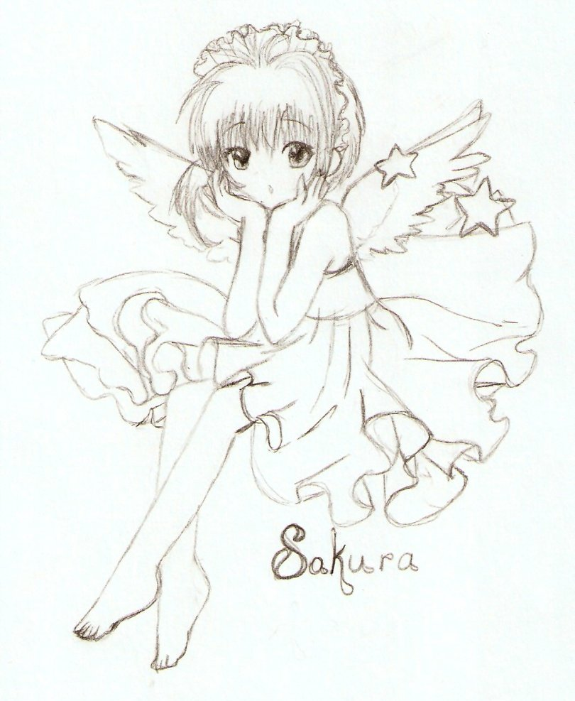 Cardcaptor Sakura Drawing