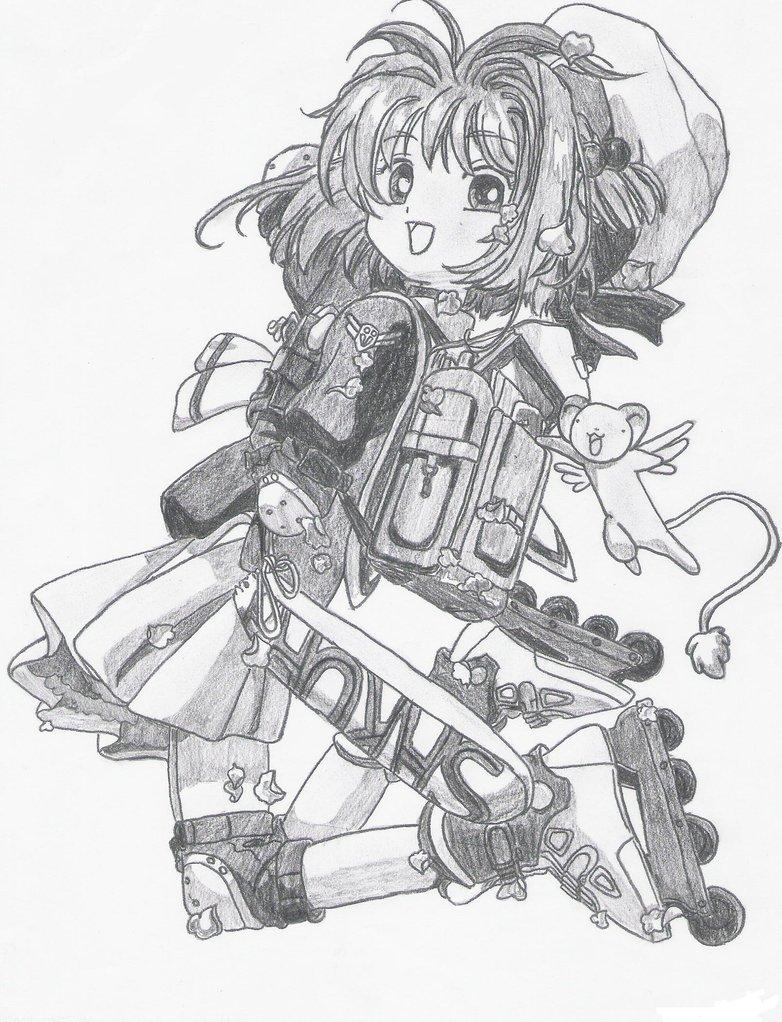 782x1022 Cardcaptor Sakura By Shinichii Cardcaptor Sakura Know Your Meme