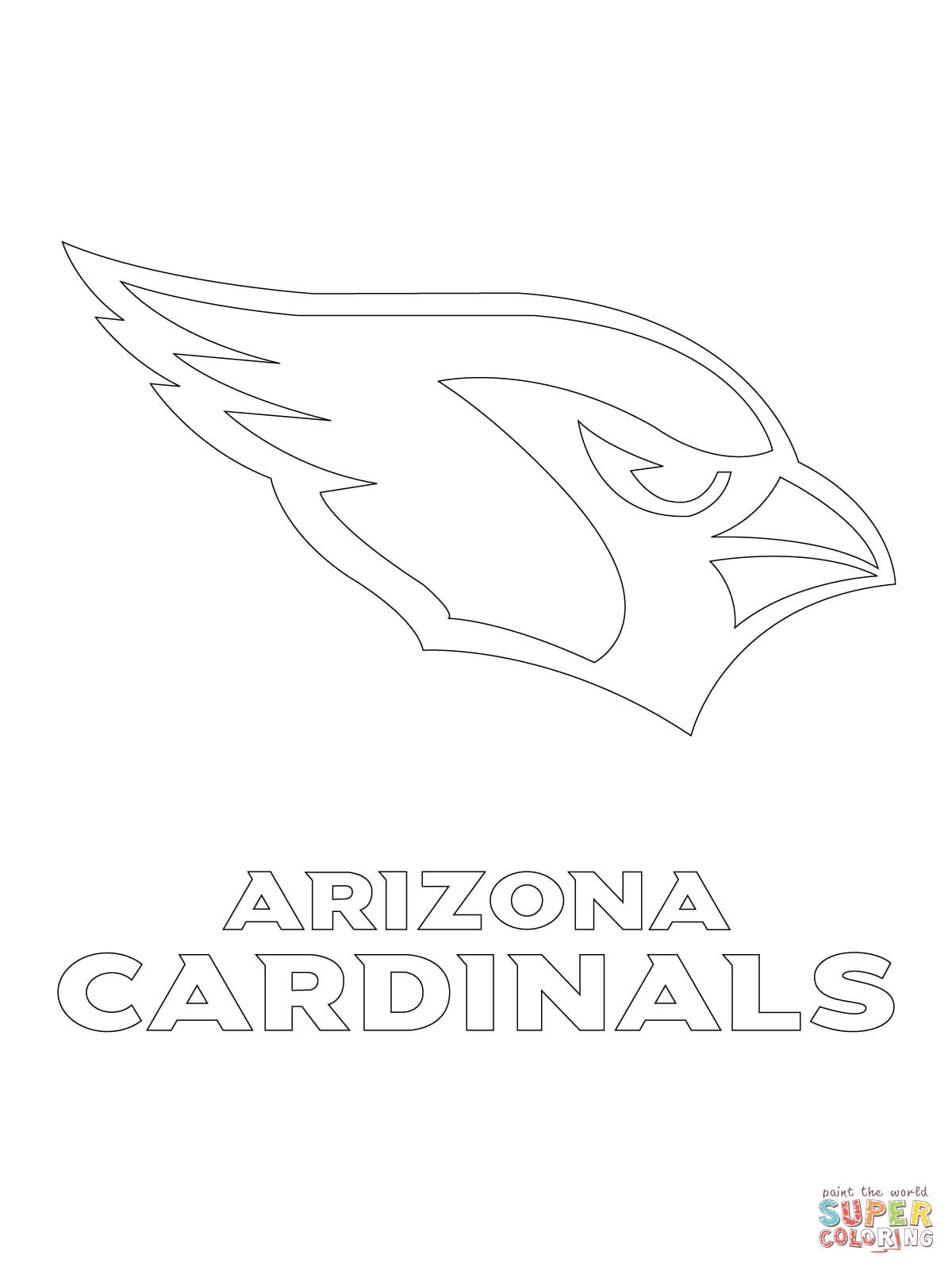 Cardinal Line Drawing at GetDrawings.com   Free for personal use ...