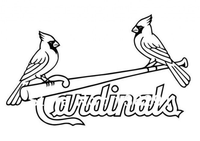 665x471 St Louis Cardinals Coloring Pages On St Louis Coloring Pages New