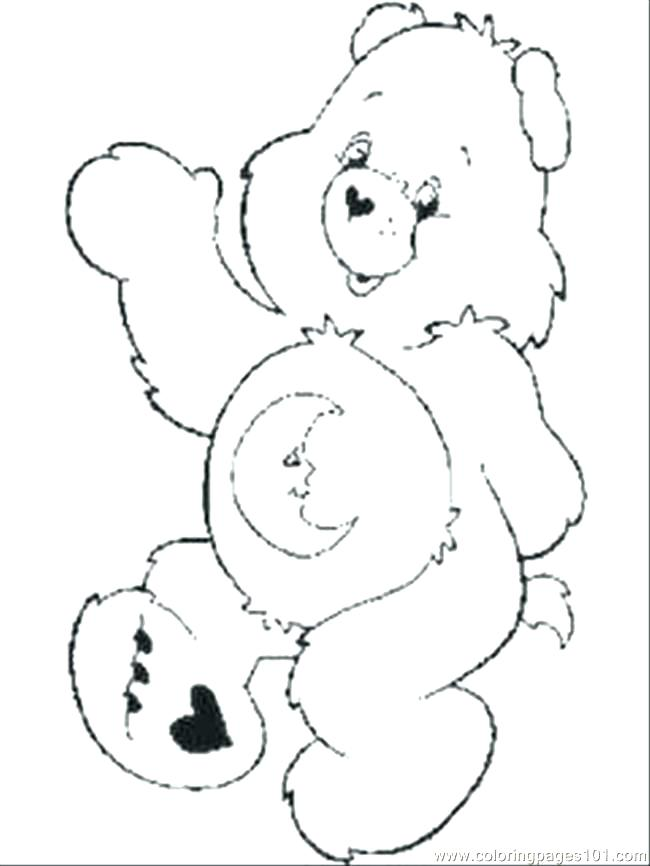 650x866 Care Bears Coloring Books And Bedtime Coloring Pages Care Bear