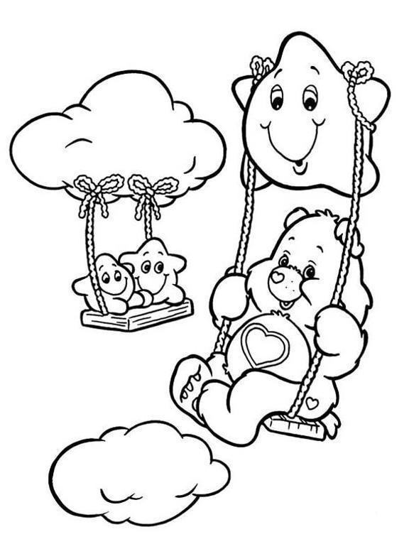 576x766 Care Bears Color Care Bear Care Bears, Bears
