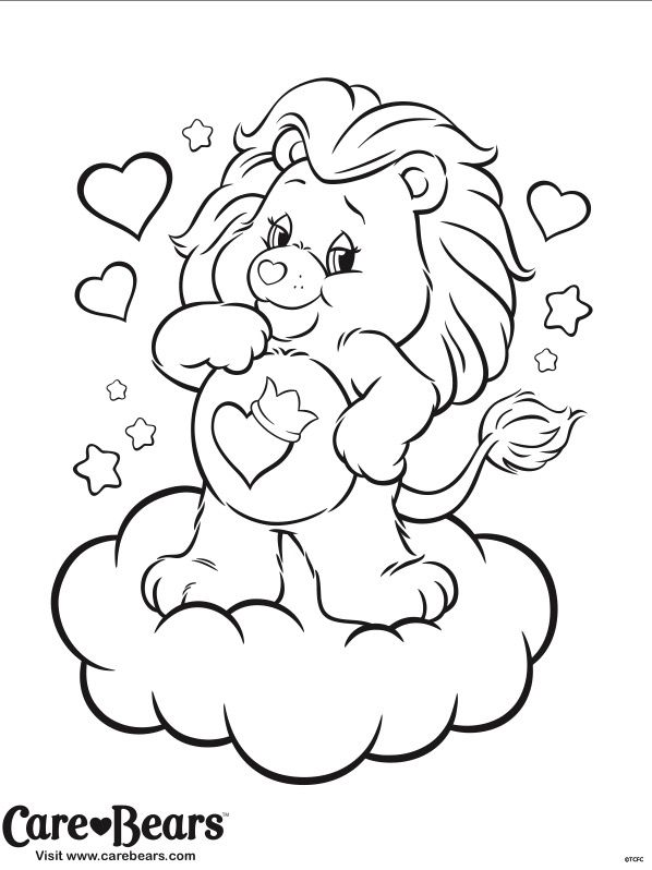 Care Bears Drawing