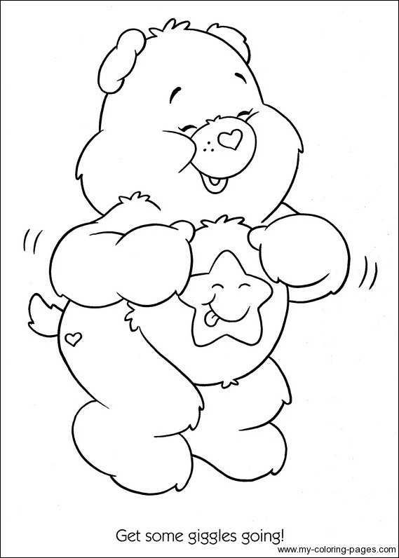 569x796 Care Bears Coloring 109 Marine Electronics Products