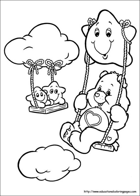 567x794 Carebears Coloring Pages Free For Kids