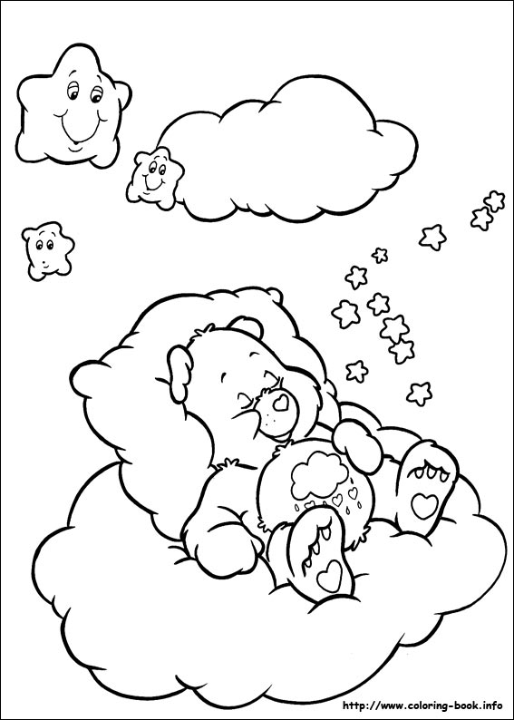 567x794 The Care Bears Coloring Picture Beertjes Care