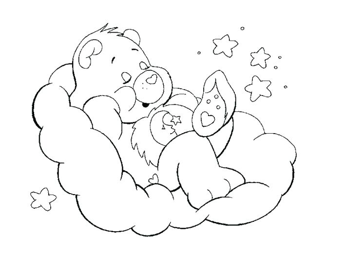 700x525 Care Bear Coloring Book Together With Care Bears Coloring Pages