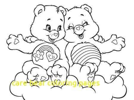 450x334 Care Bear Coloring Pages With Care Bear Coloring Pages Printable