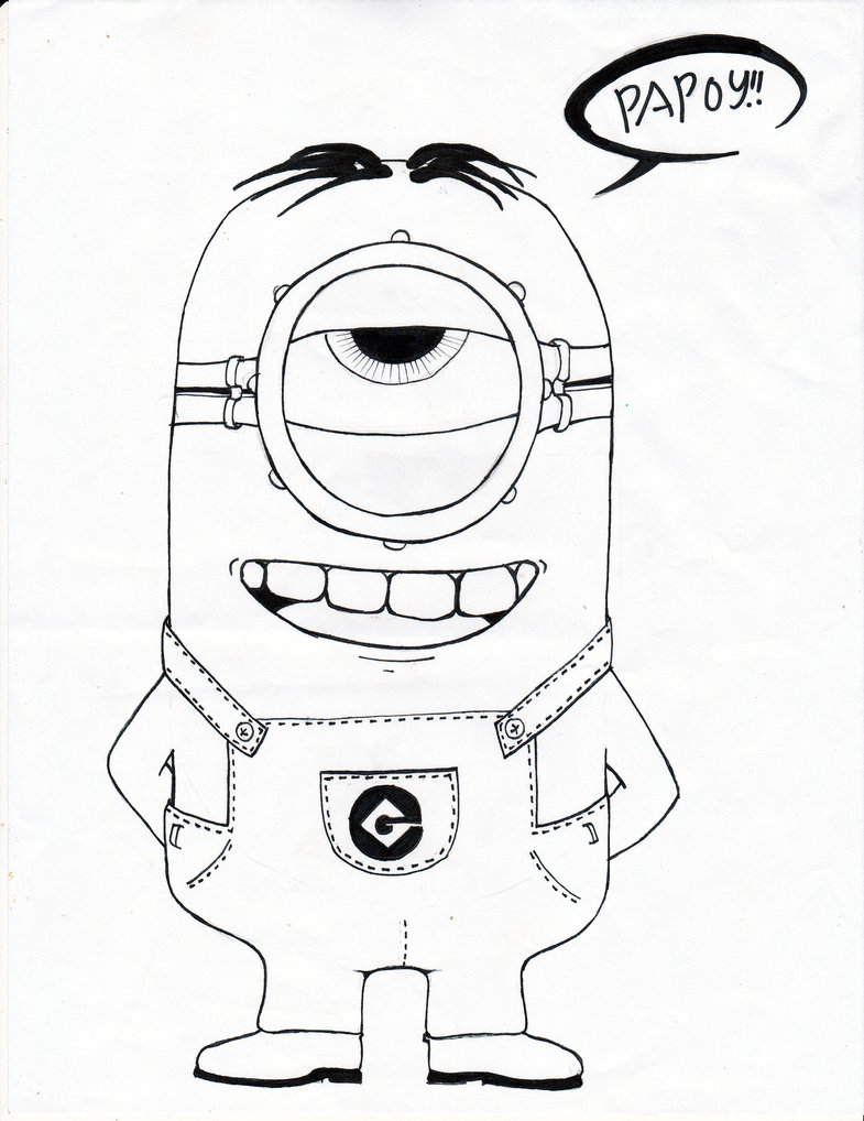 785x1018 Despicable Me Drawing Despicable Me Career Day