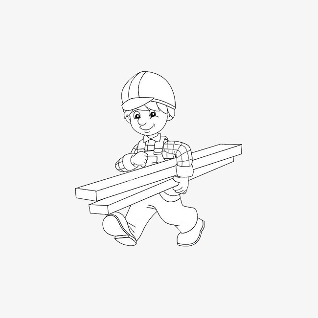 650x651 Timber Carrier, Cargo Carrier, Simple Pen Drawing Png Image