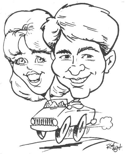406x500 Maryland Caricature Artist