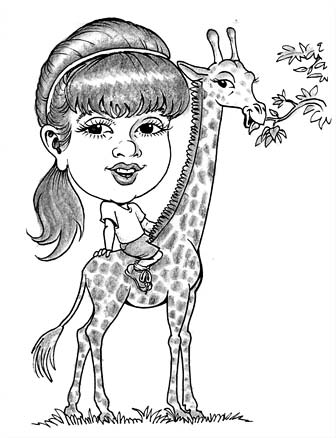 336x438 Party Caricatures By Michael Beickel