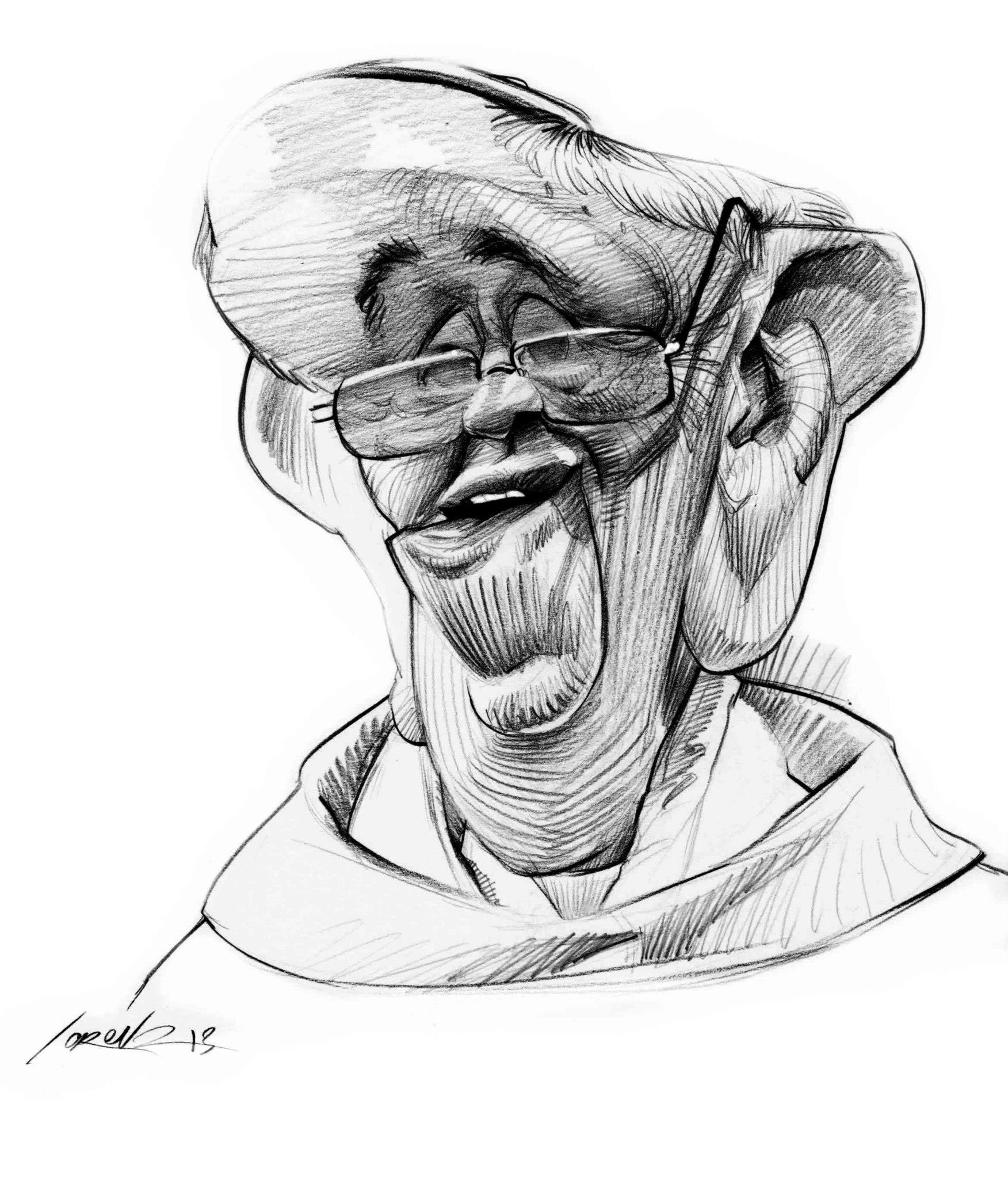 1752x2048 Pope Francis By Marvin Lorenz Caricature Pope