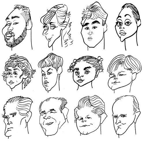 499x492 Quick Sketch And Gift Caricatures By Joe Aronson