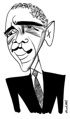 236x400 Barack Obama Portrait Illustration Personal Illustrations