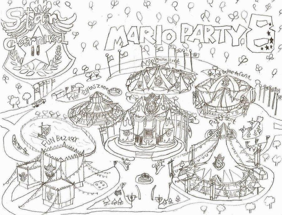 900x687 Mario Party 8 Star Carnival by NY Disney fan1955 on DeviantArt