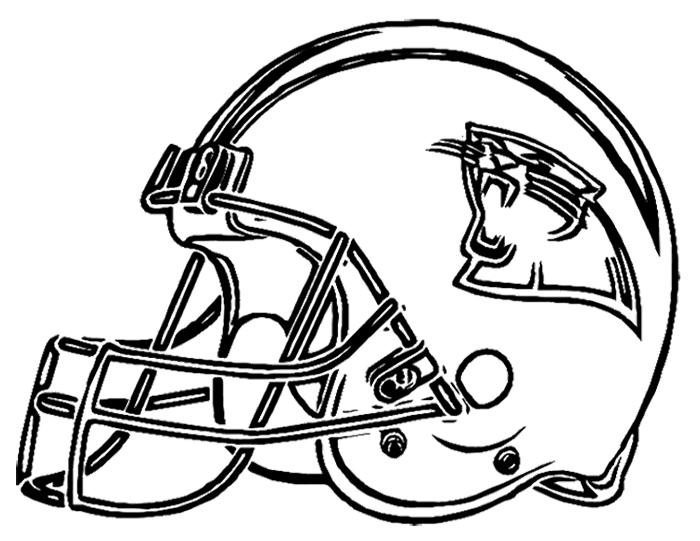 700x541 Carolina Panthers Coloring Pages Football Helmet Carolina Panthers